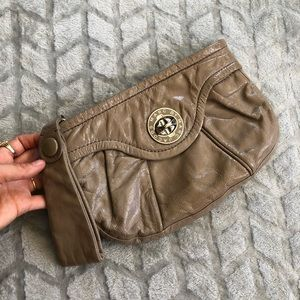 Marc by Marc Jacobs patent leather wristlet purse